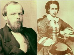 Fyodor ve Anna Dostoyevski